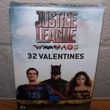 Valentines Day Cards (Box of 32) DC Comics Justice League