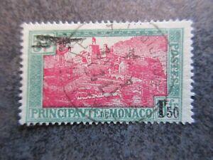 MONACO timbre N° PA 1 oblitéré cote 32 euros bon état lot CK47 48
