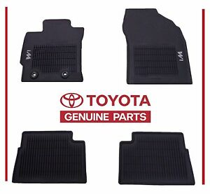 Genuine 2016 2017 Toyota Scion Corolla iM  All Weather Floor Mats OEM OE Mat Set