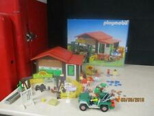PLAYMOBIL PONY RANCH FARM BARN STABLE COUNTRY VINTAGE RETIRED #3775