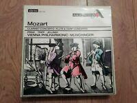 VIENNA PHILHARMONIC ORCHESTRA * MOZART CLARINET / FLUTE CONCERTO * MUNCHINGER LP