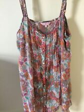 Marks & Spencer Per Una Cami Top, size 10, button front