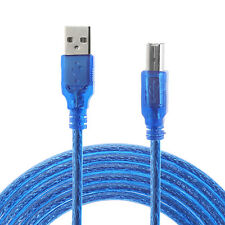 USB 2.0 A To B Male Adapter Data Cable For Canon Epson HP Printer Scanner lot