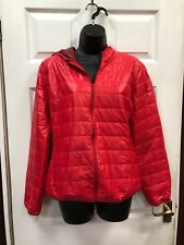 Fancy Size XL Red Puffy Coat Bomber Jacket New With Tags