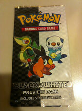 Pokemon TCG Black & White Preview booster pack (5 preview cards)