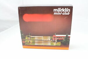 8992 El. Railroad Crossing Märklin Mini Club Gauge Z Original Packaging +Top +