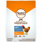 NUTRO WHOLESOME ESSENTIALS Natural Dry Cat Food, Senior Cat Chicken and Brown Ri