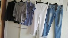 lot vêtements femme de marque : TB état peu porté T 40 M :slim chemise top veste