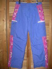 *NEW NWT *CUTE* L. L. BEAN Purple with Pink Flowers RARE SNOW SKI PANTS GIRLS 12