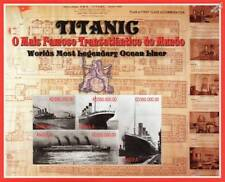 RMS TITANIC World's Most Legendary Ocean Liner Ship Stamp Sheet (1998 Angola)