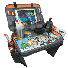 Kids Travel Tray, Car Seat Tray with tablet holder