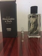 Abercrombie & Fitch FIERCE Men's Cologne  1ml  sample free shipping