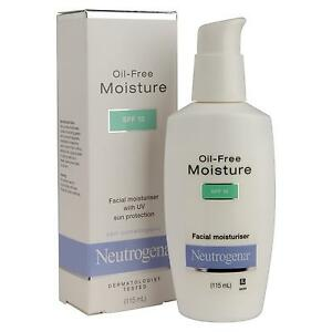 Neutrogena Oil-free Facial Moisturizer SPF 15 (115 ml x 3 bottles}