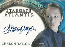 "Stargate Atlantis Heroes - Sharon Taylor ""Amelia Banks"" Autograph Card"