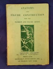 Vintage Drawing/Atlas Book-1935 Anatomy & Figure Construction-Sloan Andrews