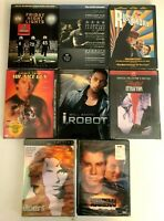 Drama DVD Movie Lot 7 Sealed - i Robot / Fatal Attraction / Rushmore - Free Ship