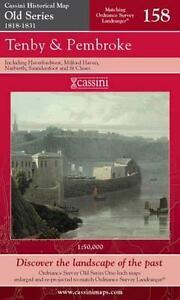 Tenby and Pembroke.Cassini Publish.Ltd.Old Series(Sht.map,folded,2007)NEW
