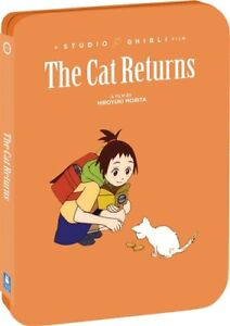 THE CAT RETURNS New Sealed Blu-ray + DVD Steelbook Studio Ghibli
