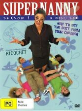 SUPERNANNY Season 1=US=NEW DVD Box Set R4=Super Nanny