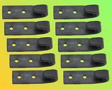10 x Planenhaken Schleuderhaken schwarz für Expanderseil etc.