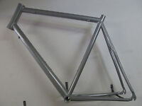 "Heli-Bikes Rennrad 28"" Alu Rahmen 62cm silber glänzend 1880gramm NEU"