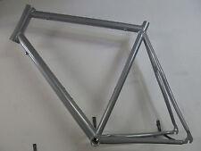 "Heli-Bikes Rennrad 28"" Rahmen 62cm Alu NEU silber glänzend 1880gramm"