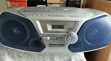 Panasonic RX-D10 AM FM Tape Cassette Boombox CD not working runs on batteries