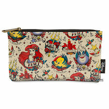 Princess Ariel Little Mermaid Pouch Cosmetic Bag Purse Loungefly Disney Store