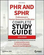 PHR and SPHR Professional in Human Resources Certification Complete Study Guide: