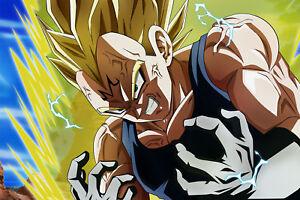 Dragon Ball Super/Z Poster Majin Vegeta Evil 12inx18in Free Shipping