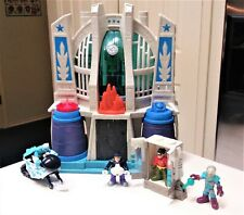 Lot Imaginext DC Super Friends Hall of Justice Playset with figures