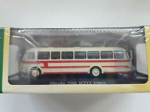 ATLAS 7163116 Modell-Omnibus SKODA 706 RTO (1963)