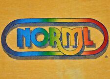 Vintage 80s NORML Marijuana Law Reform Cannabis Stoner Weed Rainbow T SHIRT Rare