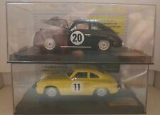 qq 91005 - 91006 NINCO PORSCHE 356 COUPE DONINGTON SLOT CAR FESTIVAL 176/400