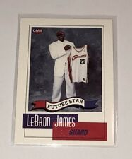 LeBron James 2003 OMR Future Star Rookie RC Cleveland Cavs Hot !!!
