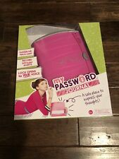 Girl Tech My Password Journal Electronic Voice Activated Diary First Edition Nib