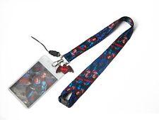 DC Comics Superman Lanyard with  Figure Dangle Card Holder