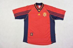 1998-99 ADIDAS ESPANA Spain Home Shirt World Cup 1998 France SIZE L