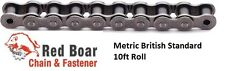 10B-1R ROLLER CHAIN METRIC British Standard New from Red Boar Chain