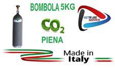 BOMBOLA CO2 5 KG PER GASATORI, ACQUARI, SALDATRICI