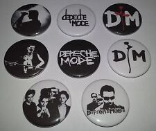8 Depeche Mode button badges 25mm Speak & Spell Electronic Rock 80's UK Scene