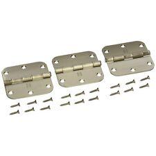 National Mfg/Spectrum Brands Hhi N830-328 Door Hinge, 3.5-Inch, Sat Nickel , 3-P