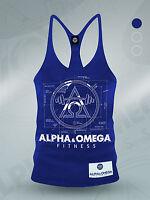 Blue Print Fitness Mens Gym Vest Stringer / Fitness / Tank / Workout/ Mens/ Top