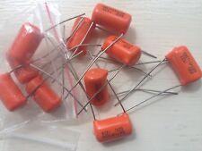 2x Orange SBE 715P Guitar Tone Cap Capacitors 0.022uf 223J 600V Electric Guitar
