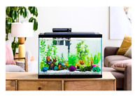29 Gallon Fish Aquarium Starter Pack with LED Tank Fish Complete Aqua Kit Filter