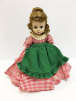 "RARE Madame Alexander Kins VINTAGE 8"" Little Women 1955 Original SLW MEG Doll"