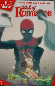 I love Marvel Web of Romance 2006 - TOM BELAND & CORY WALKER Marvel Comics US