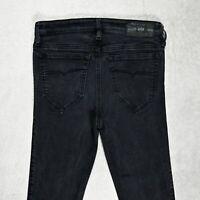 Womens Diesel Skinzee Super Slim Skinny Jeans Regular Fit Size W29 L33 Stretch