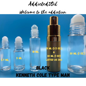 Black (Men) Type Fragrance Body Oil