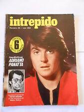 Intrepido n°28-1977- COMPLETO DEL POSTER DI P.MENNEA CARICATURA W.MOLINO